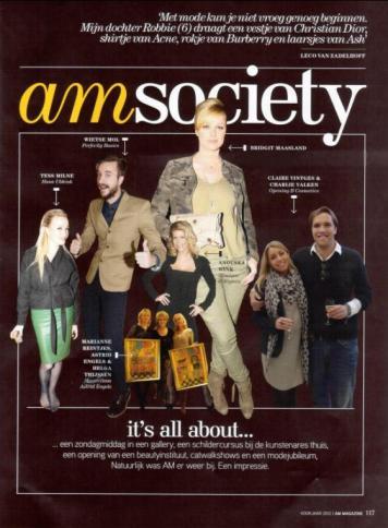 bridget am magazine